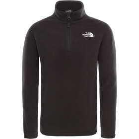 The North Face Glacier Sweat-shirt avec Fermeture éclair 1/4 Enfant, tnf black/tnf white